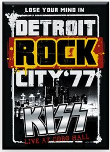 KISS Detroit Rock City '77 fridge magnet  (nm)